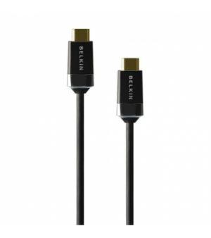 BELKIN HDMI - HDMI Kabel 4K/Ultra HD s Ethernet, pozlac., 1m