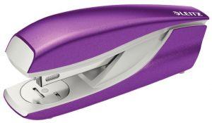 Stolní sešívačka Leitz NeXXt WOW 5502, purpurová, box