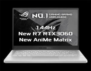 "ASUS GA401QM-AniMe044T 14"" FHD/IPA/144Hz/AMD Ryzen 7/2x8GB/1TB SSD/RTX3060 6GB/Win 10 Hom"