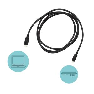 i-tec Thunderbolt 3 - Class Cable, 40 Gbps, 100W Power Delivery, USB-C Compatible, 150cm