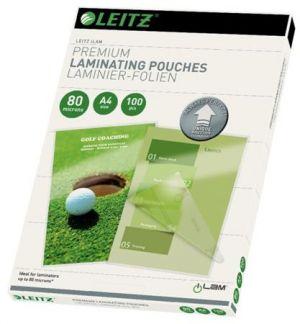 Laminovací kapsy Leitz A4 se směrovací technologií, 80 mic (100 ks)
