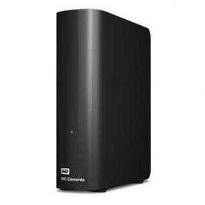 "WESTERN DIGITAL Elements Desktop Externí pevný disk, 3,5"", 12TB, USB3.0, Black"