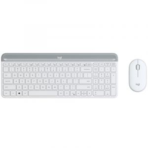 set Logitech slim Wireless MK470 - white INT´L