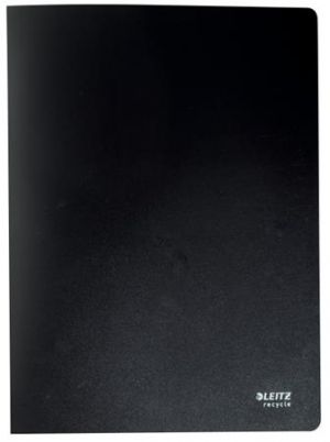 Ekologická katalogová kniha Leitz RECYCLE A4, PP, 20 kapes, černá