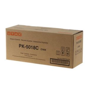 Utax originální toner 1T02TWCUT0, cyan, 11000str., PK-5018C, Utax P-C 3562 DN,3562 FDN,356