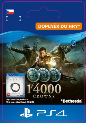 ESD CZ PS4 - The Elder ScrollsR Online: 14000 Crowns