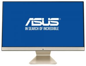 "ASUS Vivo AiO M241 23,8"" FHD/IPS/AMD R5-3500U/8GB/256GB SSD/BezOS/Černo-zlatý/2 roky Pick-"