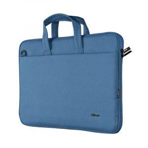 """TRUST BOLOGNA LAPTOP BAG 16"""" ECO BLUE"""